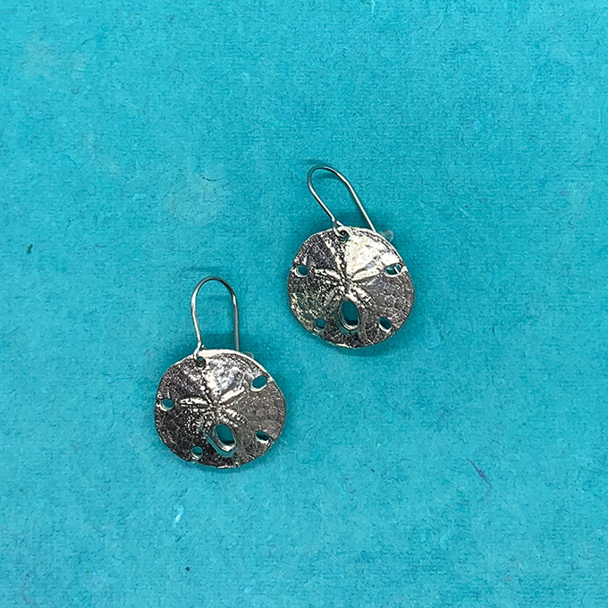 Sand Dollar 22 Mm Earrings