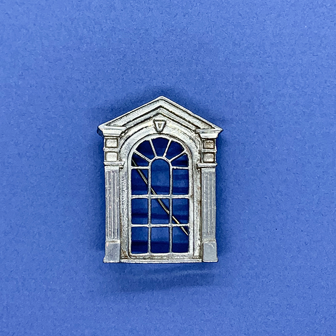 Window of French Quarter Pin