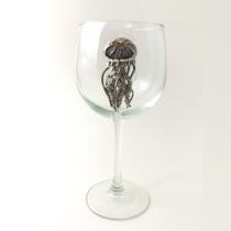 Red Wine Glass Jellyfish