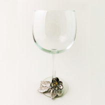Magnolia 2 tone wine glass