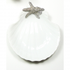 Shell Plate with Starfish