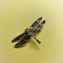 Dragonfly Gold-plated Pin