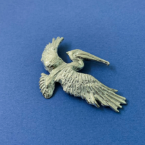 Pelican Flying Large Pin