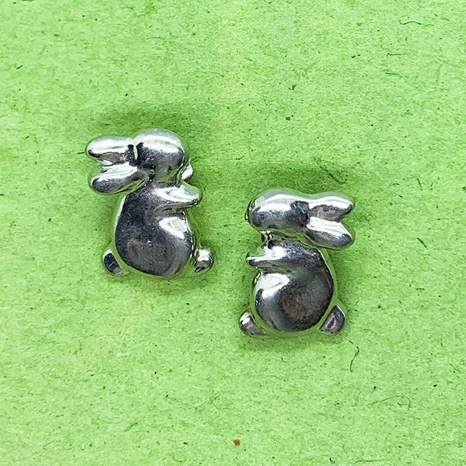 Bunny Rabbit Earrings Post